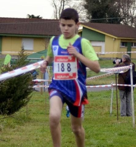 El marchador cadete brais en errenteria club deportivo - Tiempo en errenteria ...